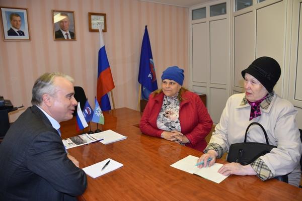 Рабочий визит член фс встретился с депутатами руководителями организаций